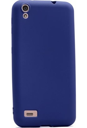 Case Street Vestel Venus V3 5010 Kılıf Premier Silikon Kılıf + Nano + Kalem Koruyucu Lacivert
