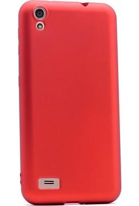 Case Street Vestel Venus V3 5040 Kılıf Premier Silikon Kılıf + Nano + Kalem Kırmızı