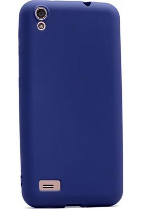 Case Street Vestel Venus V3 5040 Kılıf Premier Silikon Kılıf + Nano + Kalem Lacivert