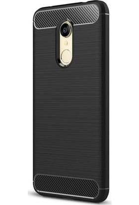 Case Street Xiaomi RedMi 5 Kılıf Room Silikon Kılıf + Nano + Kalem Siyah