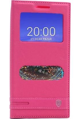 Case Street Vestel Venus V3 5530 Kılıf Elite Mıknatıslı + Nano + Kalem Kırmızı