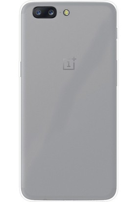 Case Street OnePlus 5 Kılıf 02 mm Silikon Ultra İnce Kılıf + Nano + Kalem Şeffaf