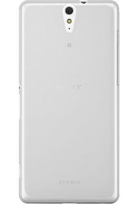 Case Street Sony Xperia C5 Ultra Kılıf 02 mm Silikon + Nano + Kalem Şeffaf