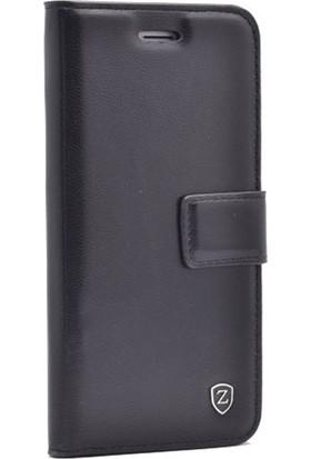 Case Street Sony Xperia Z5 Premium Kılıf Delüx Cüzdan + Nano + Kalem Siyah