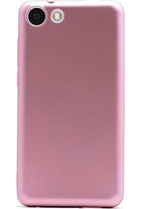 Case Street Vestel Venus E2 Plus Kılıf Premier Esnek Silikon + Nano + Kalem Bronz
