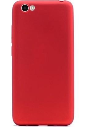 Case Street Vestel Venus E2 Plus Kılıf Premier Esnek Silikon + Nano + Kalem Kırmızı
