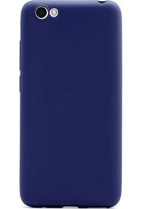 Case Street Vestel Venus E2 Plus Kılıf Premier Esnek Silikon + Nano + Kalem Lacivert