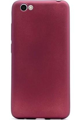 Case Street Vestel Venus E2 Plus Kılıf Premier Silikon + Nano + Kalem + Kalem Mürdüm
