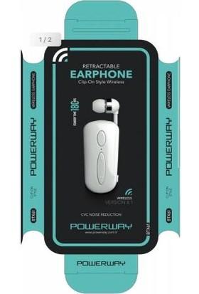 Powerway BTX61 Makaralı Bluetooth Kulaklık