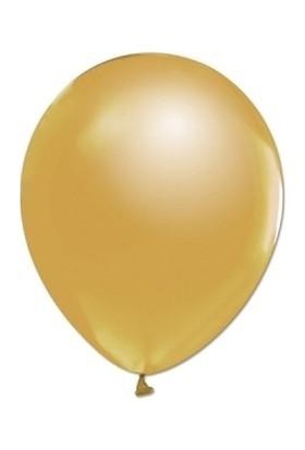 Bombastic Metalik Gold (Altın) Balon 10'lu