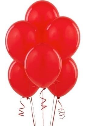 Bombastic Metalik Kırmızı Balon 10'lu