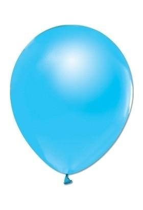 Bombastic Metalik Mavi Balon 10'lu