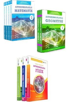 Antrenman Yayıncılık Matematik-Geometri-Fizik-Kimya-Biyoloji Tam Set 2020