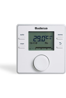 Buderus RC200 Rf Kablosuz Programlanabilir Oda Termostatı