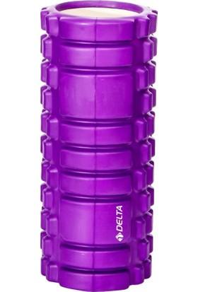 Delta Mor Tırtıklı Foam Roller FR 3303