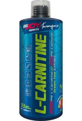 Bigjoy Big Joy L-Carnitine Likit Çilek 2000 ml