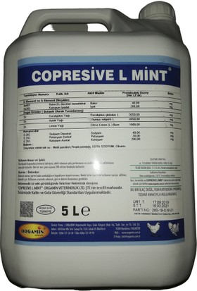 Orgamin Copresive Vitamin - Mineral