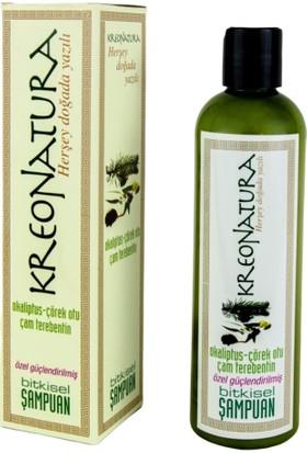 Kreonatura Çörek Otu Okaliptus Çam Terebentin Yağlı Bitkisel Şampuan