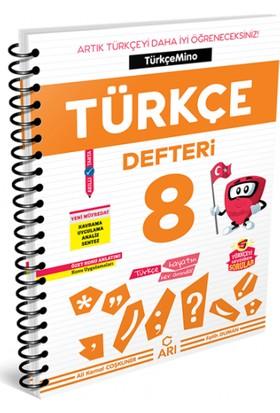 Arı Yayıncılık 8. Sınıf Türkçemino Türkçe Defteri