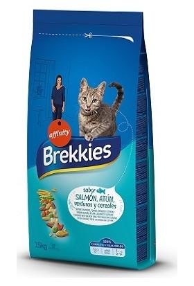 Brekkies Excel Cat Somonlu Yetişkin Kedi Maması 15 kg