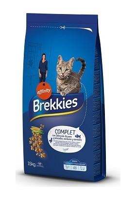 Brekkies Excel Cat Complet Tavuk-Balık Yetişkin Kedi Maması 15 kg
