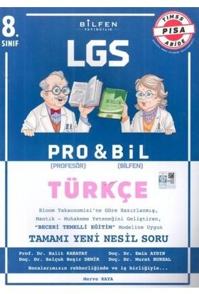 Bilfen Yayınları 8. Sınıf LGS Türkçe Probil Soru Bankası