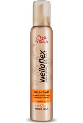 Wellaflex Curls & Waves Bukle Belirginleştirici Saç Köpüğü 200 ml