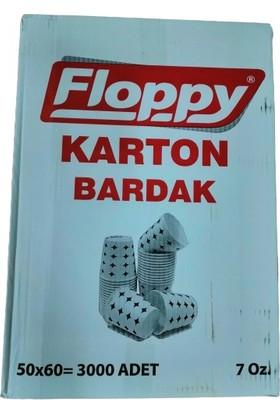 Floppy 7 Oz 3.6 gr Karton Bardak 3000'li (11 Kg)