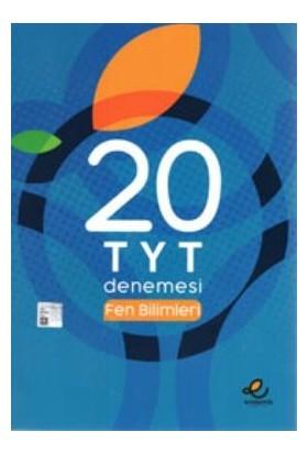 """Endemik Yayınları TYT Fen Bilimleri 20 'li Deneme """"yeni"""""""
