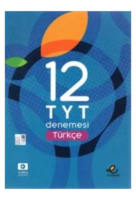 """Endemik Yayınları TYT Türkçe 12 'li Deneme """"yeni"""""""