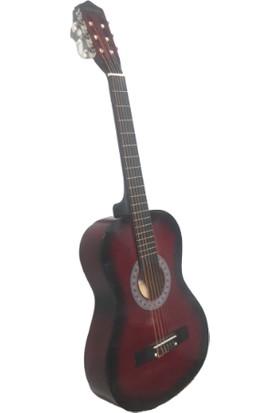 Gonzales M831 4/4 Klasik Gitar Bordo
