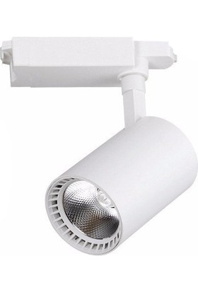 Elıght Ledli Ray Spot Beyaz Kasa 30 Watt Beyaz Işık 6500K