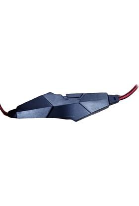 Stalker Warrior V-10 Mikrofonlu Oyuncu Kulaklık Siyah - Kırmızı