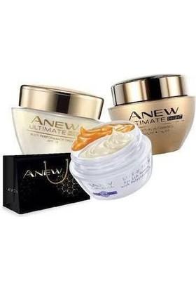 Avon Anew Ultimate Gece Gündüz ve Göz Çevresi Bakım Kiti 3 Lü Set