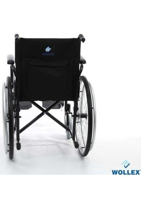 Wollex WG-M3112 18 Klozetli Manuel Tekerlekli Sandalye