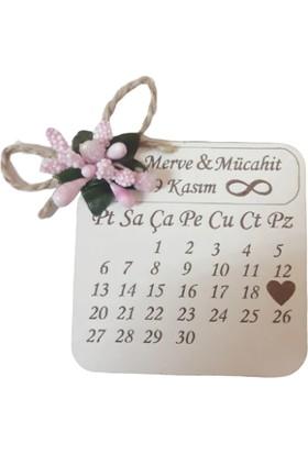 Mdf Ahşap Magnet 7cm 10'lu