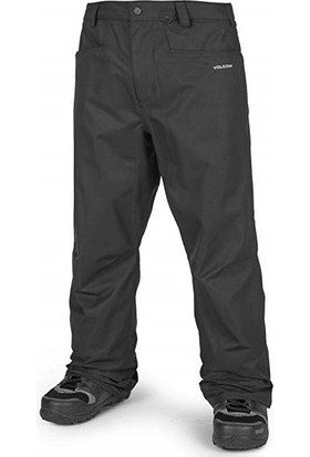 Volcom Carbon Blk Erkek Snowboard Pantolon
