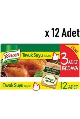 Knorr Tavuk Bulyon 120 gr 12'lii 12 Adet