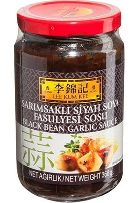Lee Kum Kee Black Bean Garlic Sos 368 gr