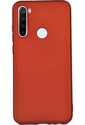 Gpack Xiaomi Redmi Note 8T Kılıf Premier Silikon Esnek Koruma Kırmızı