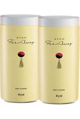 Avon Far Away Pırıltılı Vücut Pudrası 40Gr 2 Adet