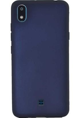 Case Street LG K20 2019 Kılıf Premier Silikon Esnek Koruma Lacivert