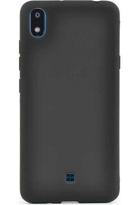 Case Street LG K20 2019 Kılıf Premier Silikon Esnek Koruma Siyah
