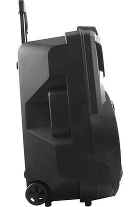 Mikado MD-82KP Siyah USB + Fm Destekli Bluetooth Kablosuz Mikrofonlu Amfi