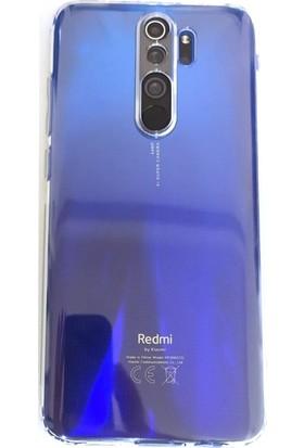 Case Street Xiaomi Redmi Note 8 Pro Kılıf Kamera Korumalı Şeffaf Silikon Şeffaf