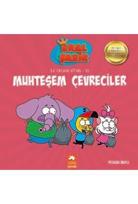 Kral Şakir İlk Okuma Kitabı 10: Muhteşem Çevreciler (Pedagog Onaylı) - Varol Yaşaroğlu