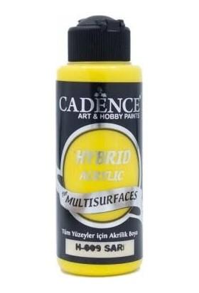 Cadence Multisurface Akrilik Boya Sarı 120 Ml H009