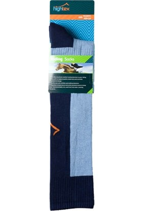 Hightex Binici Çorabı Riding Socks Lacivert Mavi