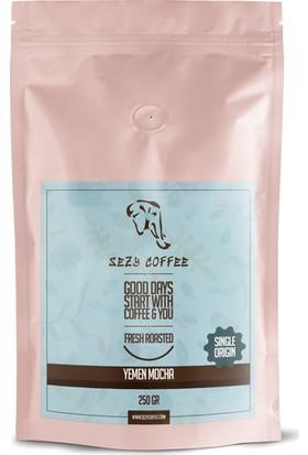 Sezy coffee Yemen Mocha Pea Berry Gr-1 250 gr
