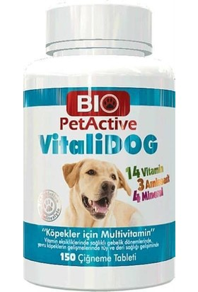 Bio Pet Active Vitalidog 150Tablet